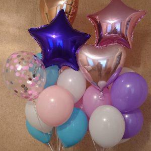 букет из шаров херсон, букет из шариков Херсон, гелиевые шары херсон, доставка шаров херсон, шары на день рождения херсон