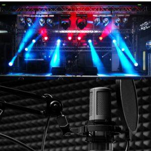Виробництво радіореклами Підбір, монтаж і настройка звукового та світлового обладнання