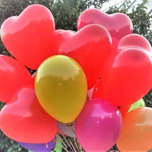 шарики херсон, доставка шариков Херсон, купить шарики херсон, гелиевые сердечки херсон