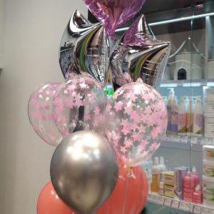 букет из шаров Херсон, шарик херсон, доставка шаров Херсон, гелиевые шары херсон