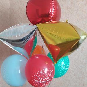необычный букет из шаров Херсон, дотсавка шаров Херсон, шарики херсон, купить букет из шаров Херсон, шар херсон