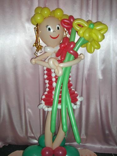 фигуру из воздушных шаров купить в Херсоне, фигуры из воздушных шаров любой формы и размера