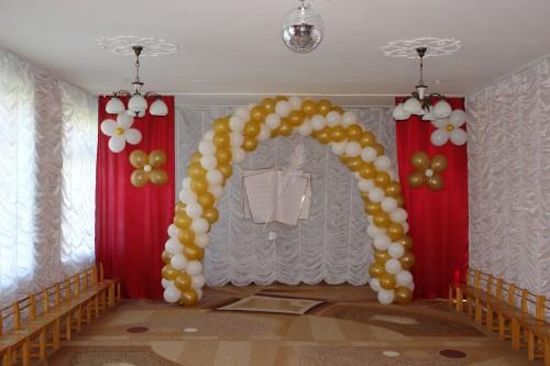 оформление свадеб воздушными шарами, гирлянда из воздушных шаров в Херсоне