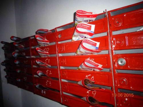 Распространение по почтовым ящикам в Херсоне, Скадовске, Новой Каховке
