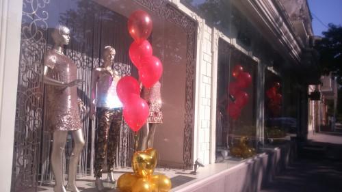 гелиевые шары херсон, оформление воздушными шарами