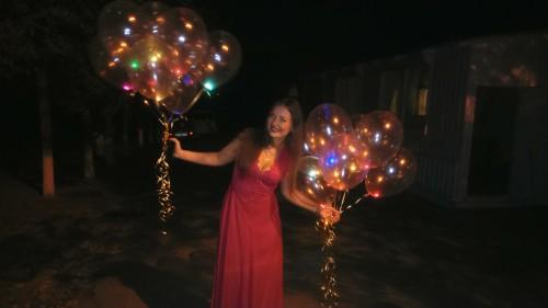 гелиевые шарики херсон, светящиеся гелиевые шары