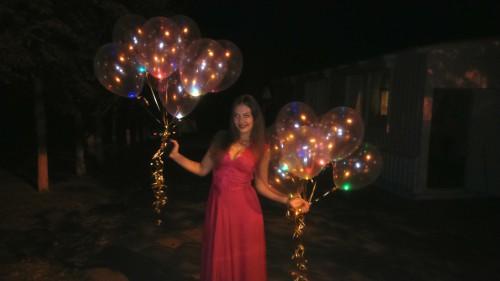 купить гелиевые шары в Херсоне, гелиевый шар херсон, гелиевый шарик с светодиодом