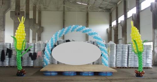 Кукуруза и воздушных шаров