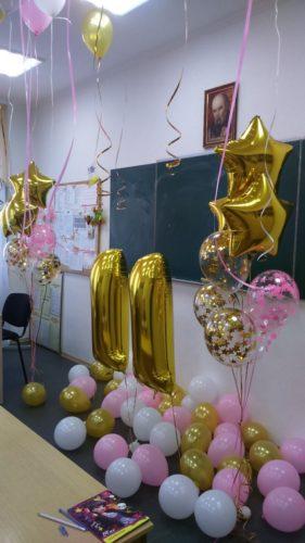 аэродизайн херсон, гелиевый шар херсон, гелиевые шары для дня рождения