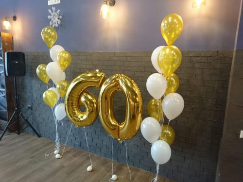 фольгированные цифры херсон, гелиевы шары херсон, шарики на день рождения,