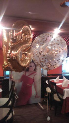 фольгированные цифры Херсон, оформление гелиевыми шарами Херсон, шары гиганты херсон
