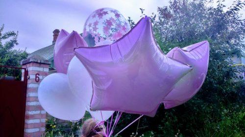гелиевый шарик херсон, доставка гелиевых шаров Херсон, шары на свадьбу херсон
