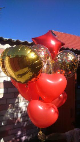 Доставка шаров Херсон, гелиевый шарик херсон, оформление шарами херсон