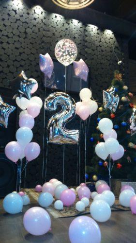 шары для дня рождения херсон, гелиевый шарик херсон, оформление воздушными шарми, фольгированные цифры херсон