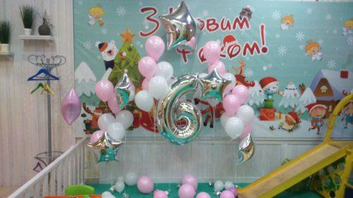 фольгированные цифры Херсон, оформление гелиевыми шарами Херсон, фольгированные звезды херсон, шары к празднику херсон