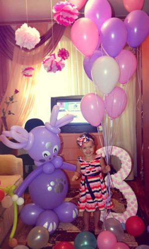 гелиевый шар в Херсоне, украшение шарам, гелиевые шары, фигуры из воздушных шаров