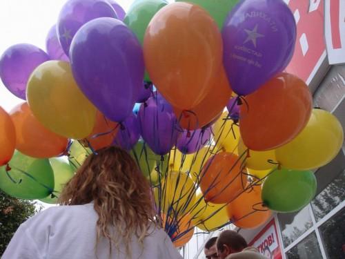 купить гелиевый шарик в Херсоне